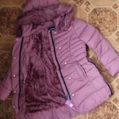 Зимняя куртка на меху для девочек Taurus 14/16 лет