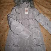 Курточка на меху для девочек Glo-Story, 170 р.Зима