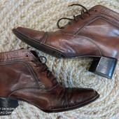 Gabor. Винтажные ботинки из натуральной кожи,24,5 см