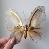 Ооооочень много лотов!бабочка на пришепке