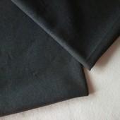 Шерсть костюмная темно-серая, отрезы 90*57+90*72, ткань из Европы, секонд