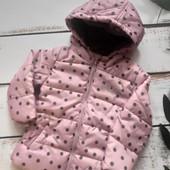 Куртка тепла на флісі вологостійка lupilu