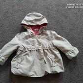 Куртка (пальтишко) детская нарядная, весна/осень.