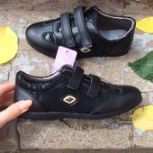 Закрытые туфли р35 том.м для девочки в черном цвете
