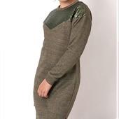Последнее! Комфортное теплое платье-туника Mevis! 164рр.Качество