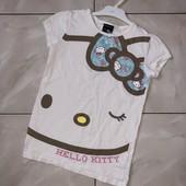 СHello, Kitty❤крутая Фирменная футболочка,6-8 лет!*Много лотов)