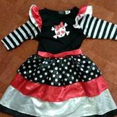 Красивое платье для карнавала Smiffys 4-6л