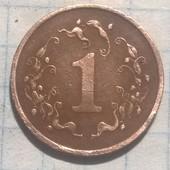 Монета Зимбабве 1 цент 1988