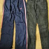 Брюки - джинсы или спортивные штаны, на 48-52рр.