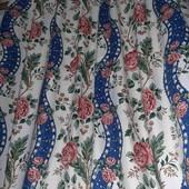 Красивенные шторы в идеале, 2шт,130*280(каждая!)