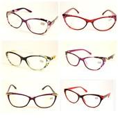"""Новая коллекция!!Стильные имиджевые очки """"Кошечки"""" с диоптриями плюс-"""