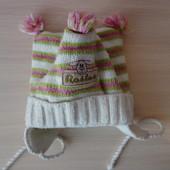 Теплые зимние шапочки на деток 1-1,5 года. Одна на выбор