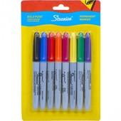 Набор цветных перманентных маркеров 8 цветов!