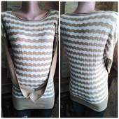 Женский удлиненный свитер с мягкой шерстью. l/xl (46-48)