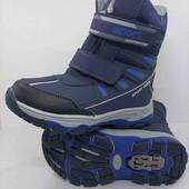 Зимние ботинки, сноубутсы, сапоги для мальчика 27,28,29 размер (17,5-18,5см)