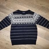 Зимний свитер на мальчика 4-5 лет