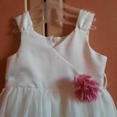 Нарядное платье для принцессы! Состояние идеальное!!!!!