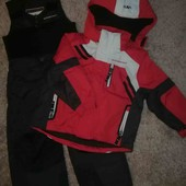 Зимние, теплые- комбинезоны, состояние новых, в лоте куртка+комбинезон