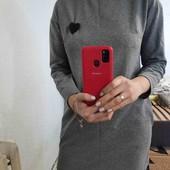Платье оверсайз, б/у, размер с/м