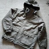 Утепляемся! 48-50р. Утеплённая мужская хаки куртка Green park, синтепон