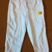 Распродажа!!! Капри укороченные брюки George р.12