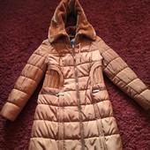 Женское пальто с желеткой