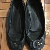 Шкіряні балетки розмір 38