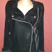 Крутая кофта велюр на замке пошив под куртку очень крутая с заклёпки кнопками велюр круто блестит