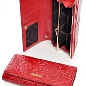 Яркий, качественный кошелёк из натуральной кожи!! Нюансик!