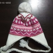 зимняя шапка и шарфик 4-5 лет