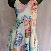 платье из плотного трикотажа