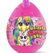 Супер набор креативного творчества Unicorn Surprise Box, с мягкой игрушкой Единорог! 2 цвета