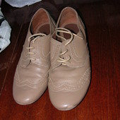 мягкие туфли кожаные 6/39 стельки 25,5 см