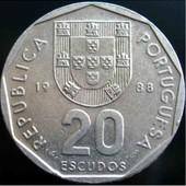 50 ескудо 1988 Португалія