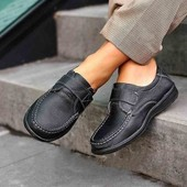Осенние Кожаные туфли**