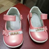 Туфли для принцессы 13,5-13.7 см идеал