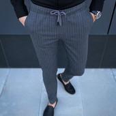 Мужские брюки, штаны в полоску