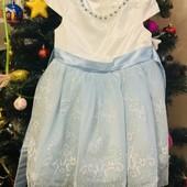 Нарядное новогоднее платье 3-5 лет