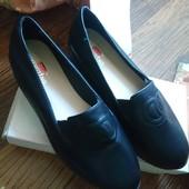 Туфли лоферы. Размер 40 (39) / (25,5 см)