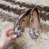 Туфлі балєтки нові шкіра 22,5-23см