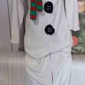 Вау! Тёпленький мягусенький слип, кигуруми, пижама размер S