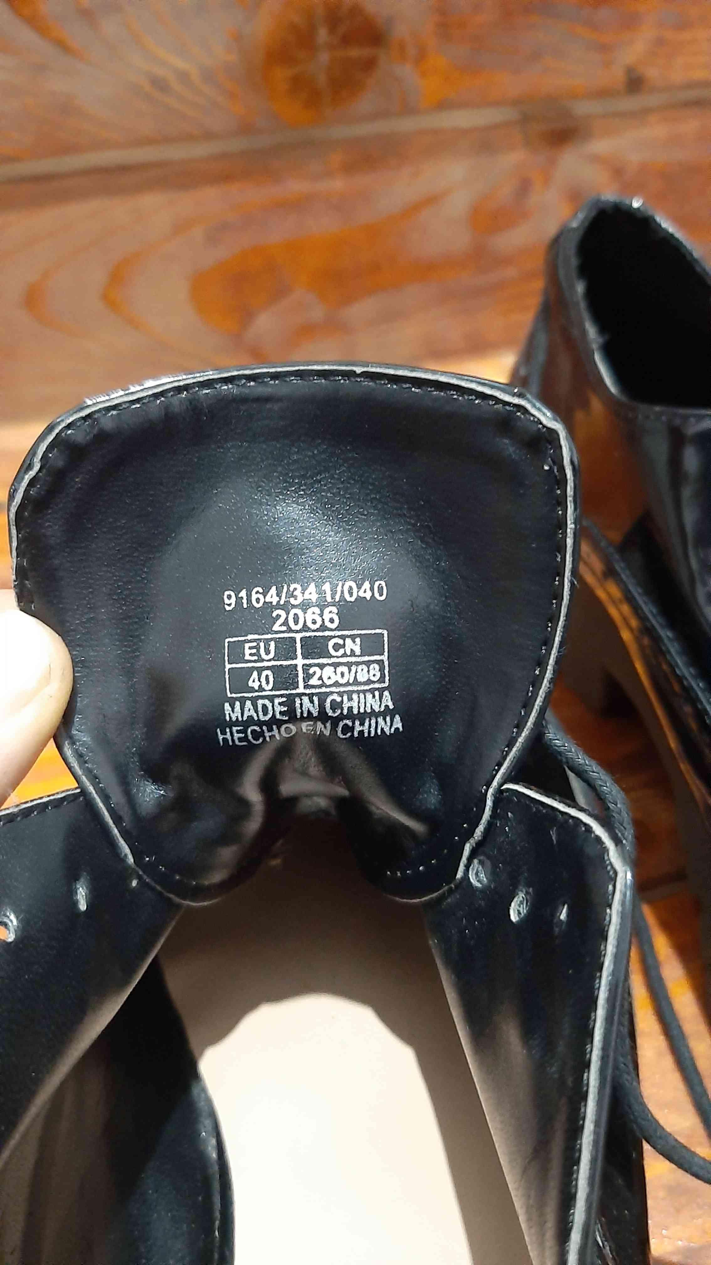 Кожаные броги,туфли,черевики от stradivarius сток! - Фото №4