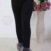 Тёплые брюки-лосины. Размер 56
