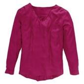 Нежная блуза из вискозы малиновая от Blue Motion (Германия), размер наш 50-52 (44/46 евро)