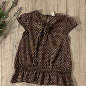Блуза для девочки 6 лет. В хорошем состоянии.