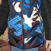 куртка для мальчика. Зима,ранняя весна.