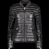 Стеганая куртка деми сезон стойка amisu 38p распродажа последних размеров