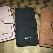 Женский клатч-кошелек Baellerry Forever Цвет на выбор - чёрный или коричневый