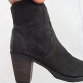 Ботинки 42 p Tamaris Германия натур кожа оригинал-27 см,нюанс