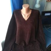 Тёплый свитер для дома/дачи( нюанс), р.XL(52-56)